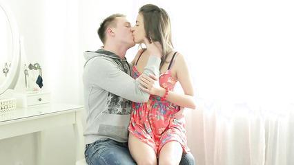 Русские студенты занимаются любовью