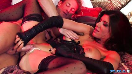 Зашел в гости к элитной проститутке